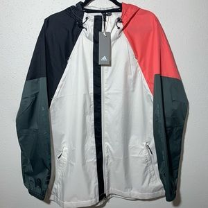 NWT ADIDAS Men's Large Windbreaker